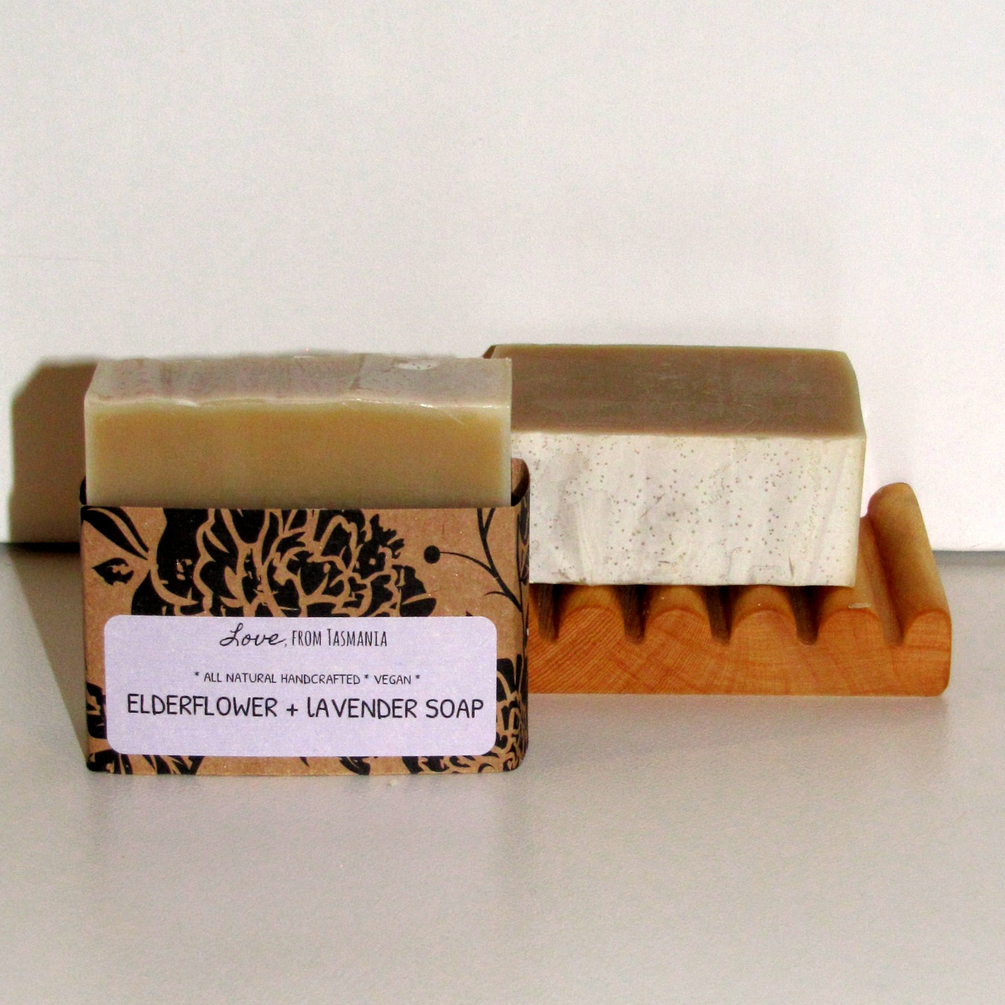 elderflower & lavender natural soap