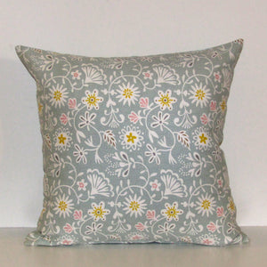 Flower cushion cover, 40cm