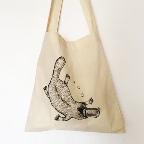 platypus shopping bag