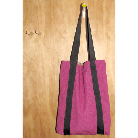 tote bag, pink dolly with black strap