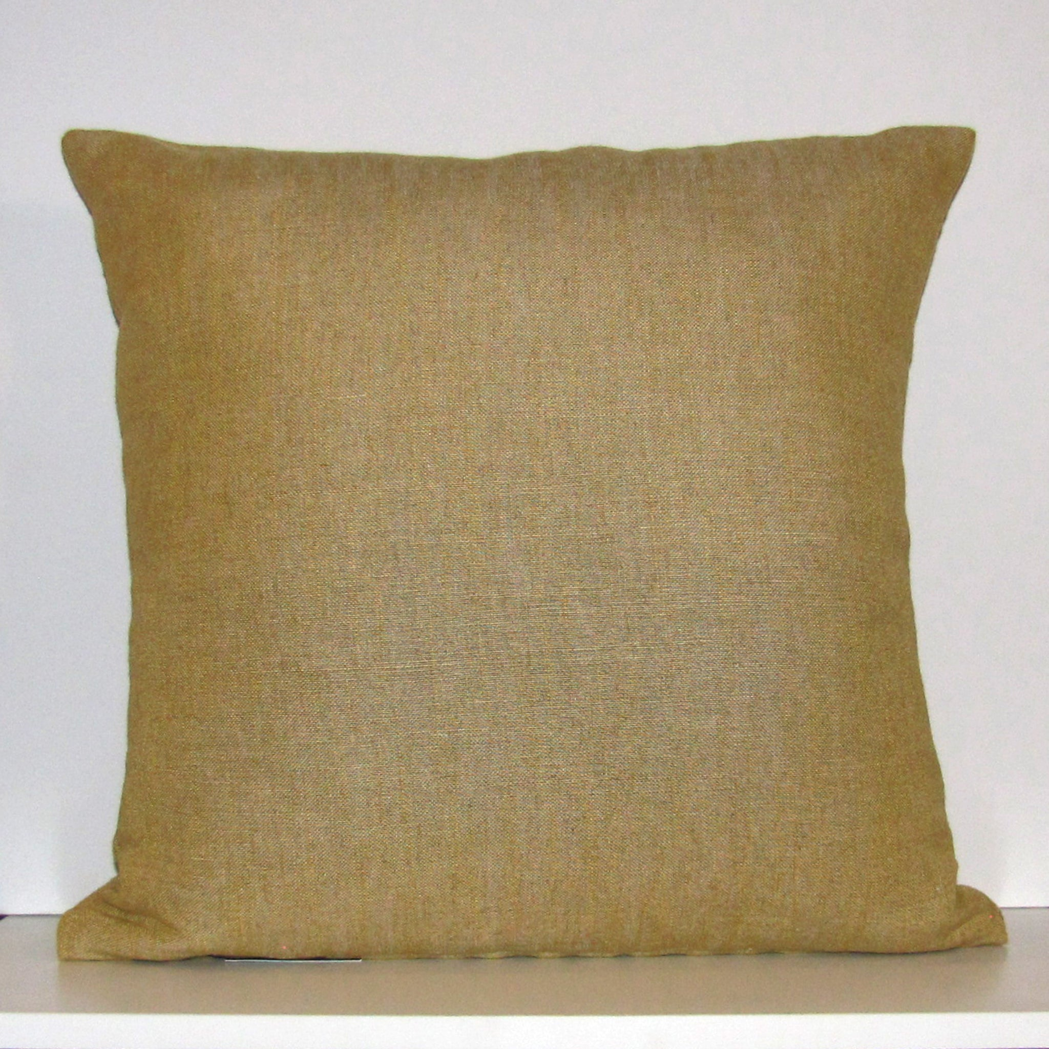 Mimosa linen cushion cover