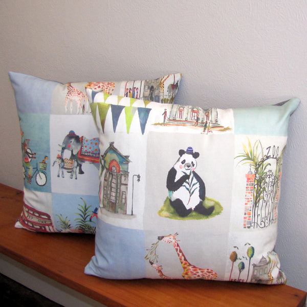 Animal Park kids cushion cover
