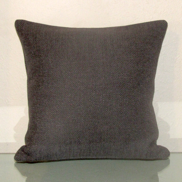 Made to order Bristol Charcoal linen blend cushion cover