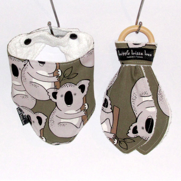 koala teething gift set