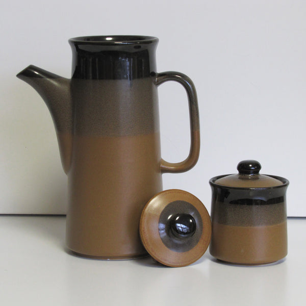 Vintage Korean coffe pot & sugar bowl