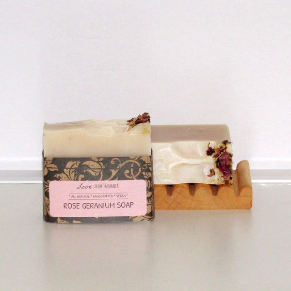 Rose Geranium natural soap