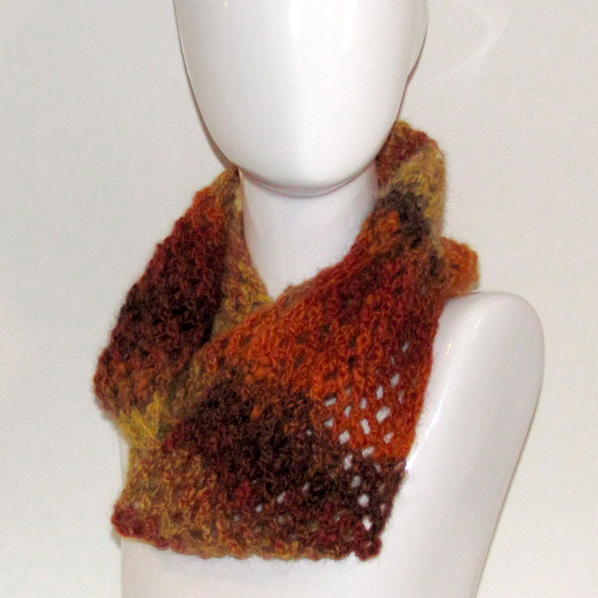 pure wool infinity scarf