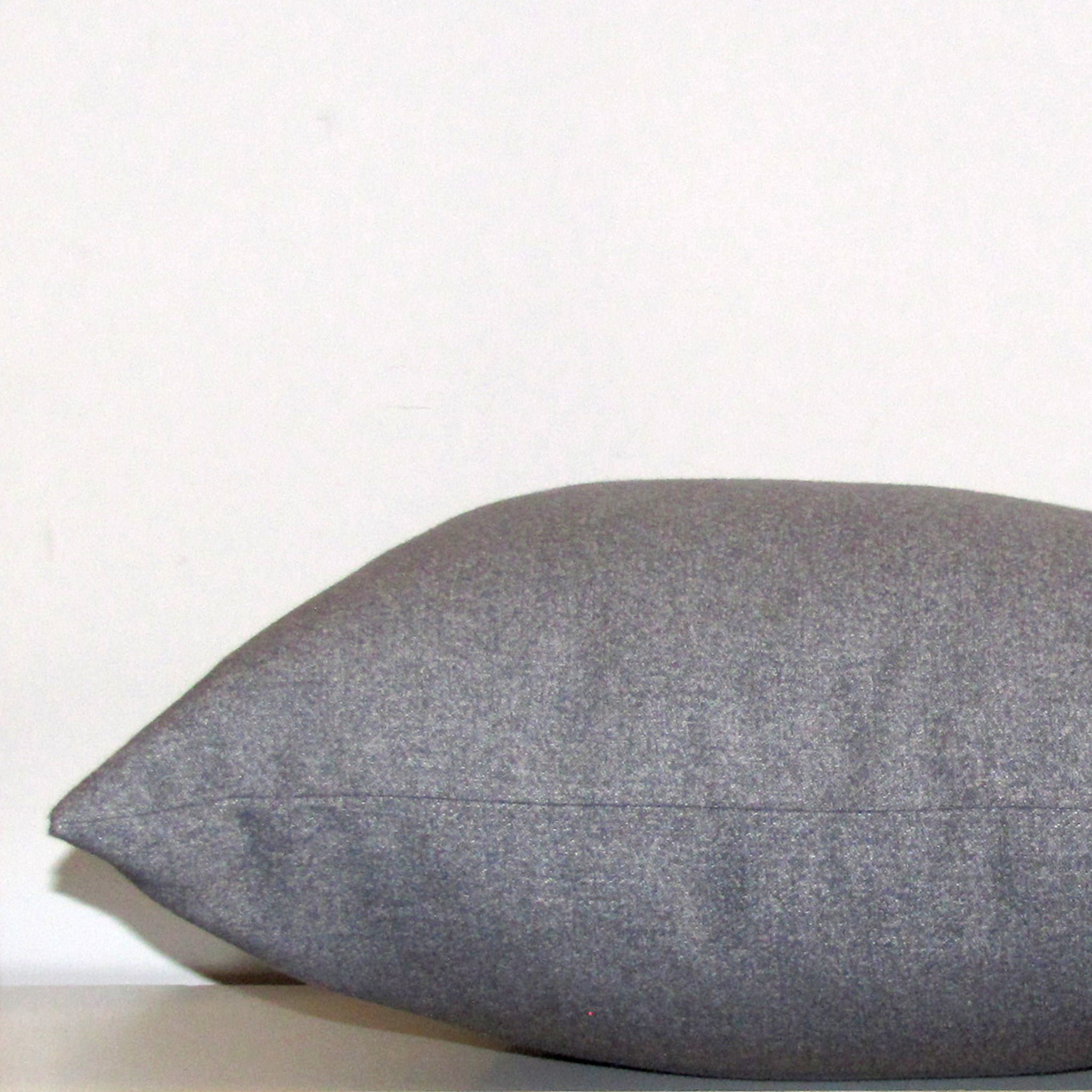 cement grey textured cushion cover