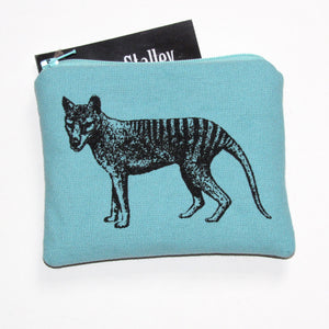 Thylacine coin purse