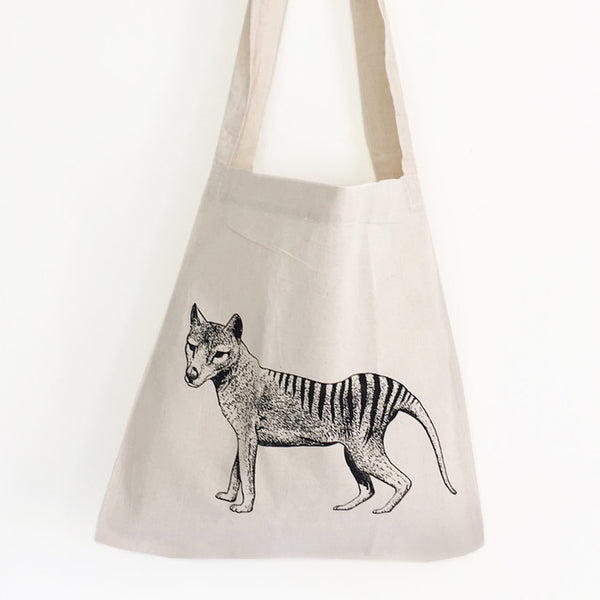 Thylacine shopping bag