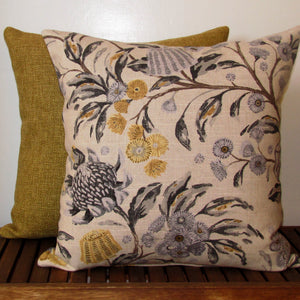 Hinterland cushion cover, natural