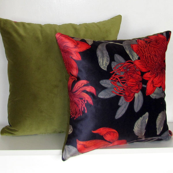 Wildflowers cushion cover