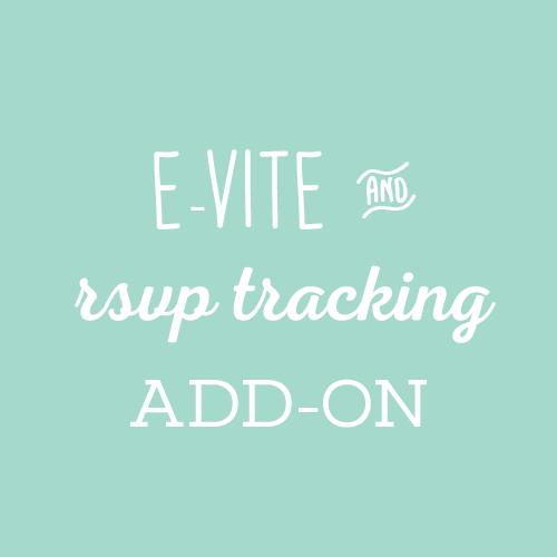 E Invite Rsvp Tracking Add On Hometown Design Co