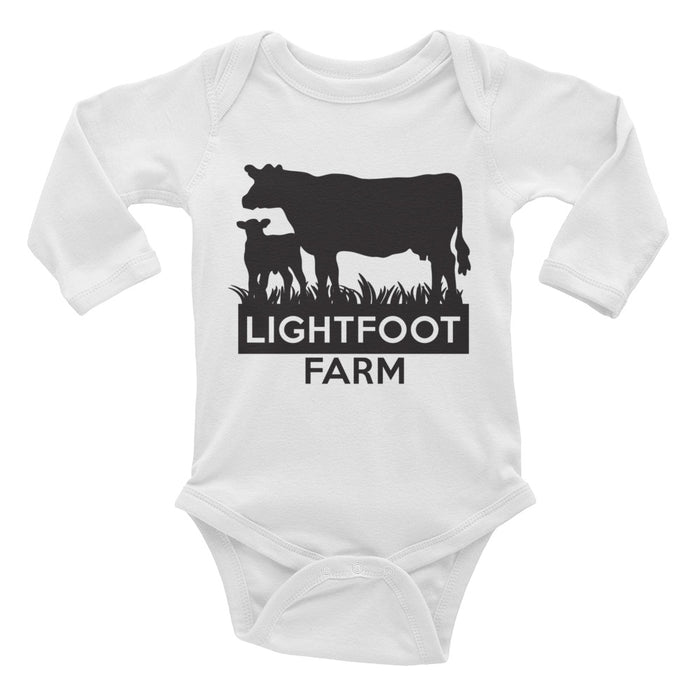Lightfoot Farms Baby Long Sleeve Onesie