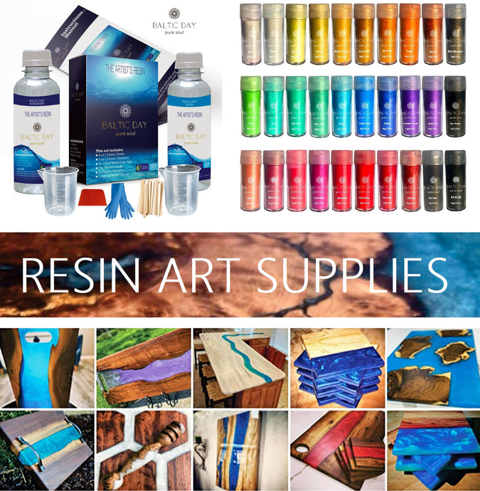 Epoxy Resin Supplies – Beginner Supply for Resin Painting