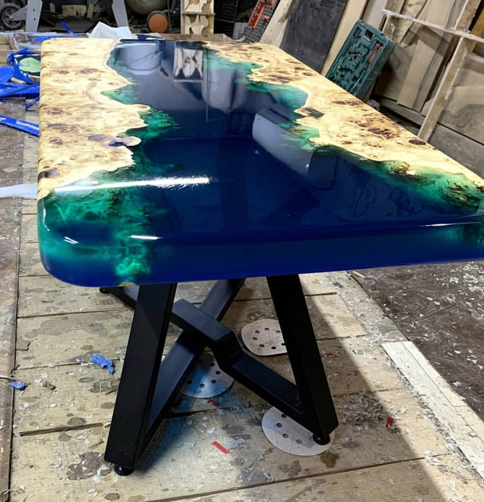 how to make river table