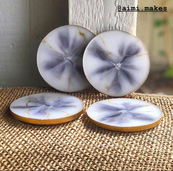 natural resin coasters