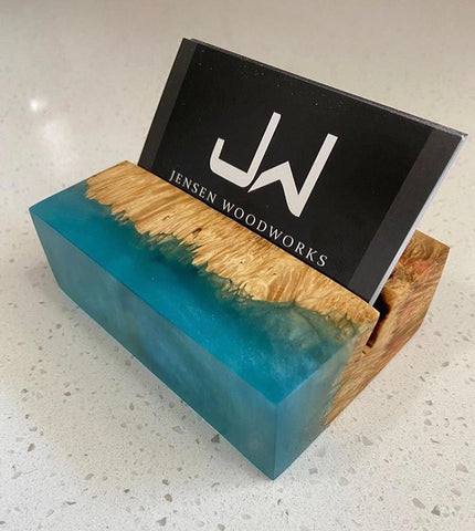 Epoxy Resin Business Card holders