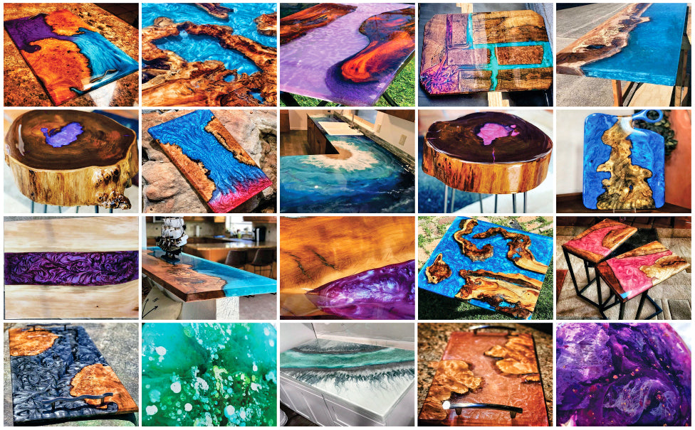 Epoxy Resin for Wood – Tutorial for Creative Ideas and Projects with Wood Epoxy
