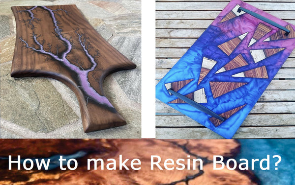 how to make epoxy resin board