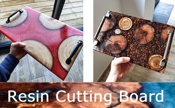 how to make resin board