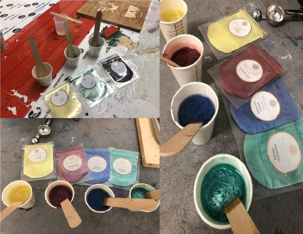 epoxy resin colors for casting