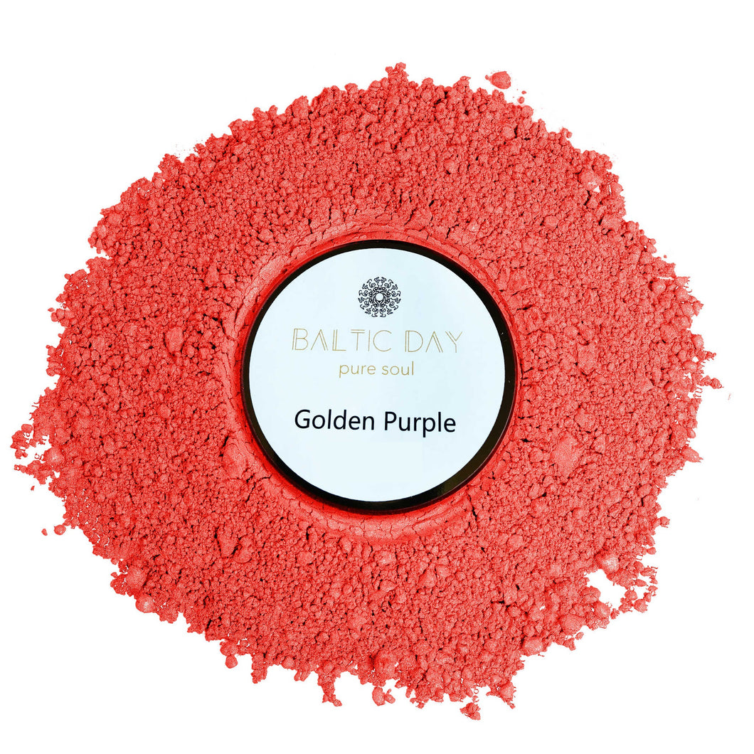 Epoxy Resin Color Pigment - GOLDEN PURPLE – 50g