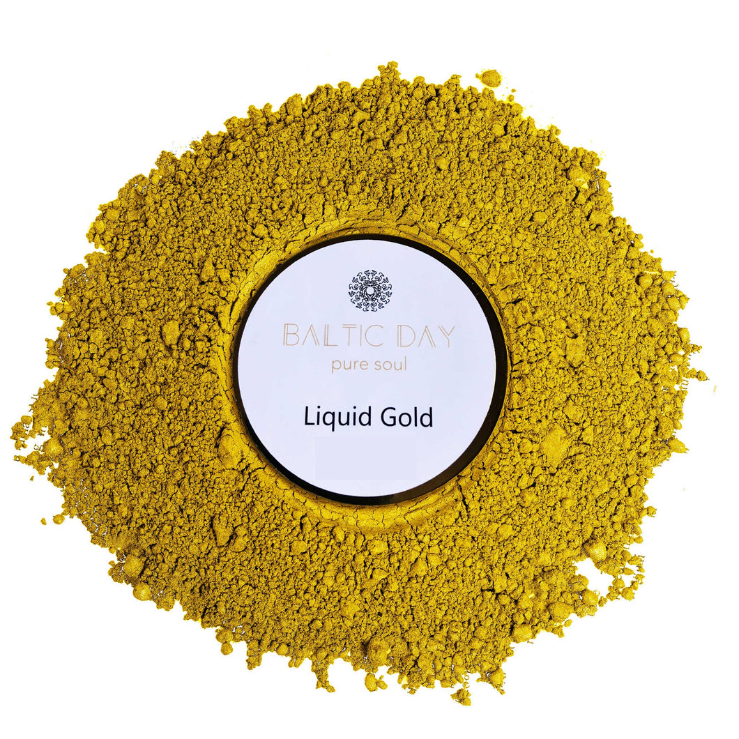 Epoxy Resin Color Pigment - LIQUID GOLD – 50g