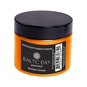 Epoxy Resin Color Pigment - MANDARIN ORANGE – 50g