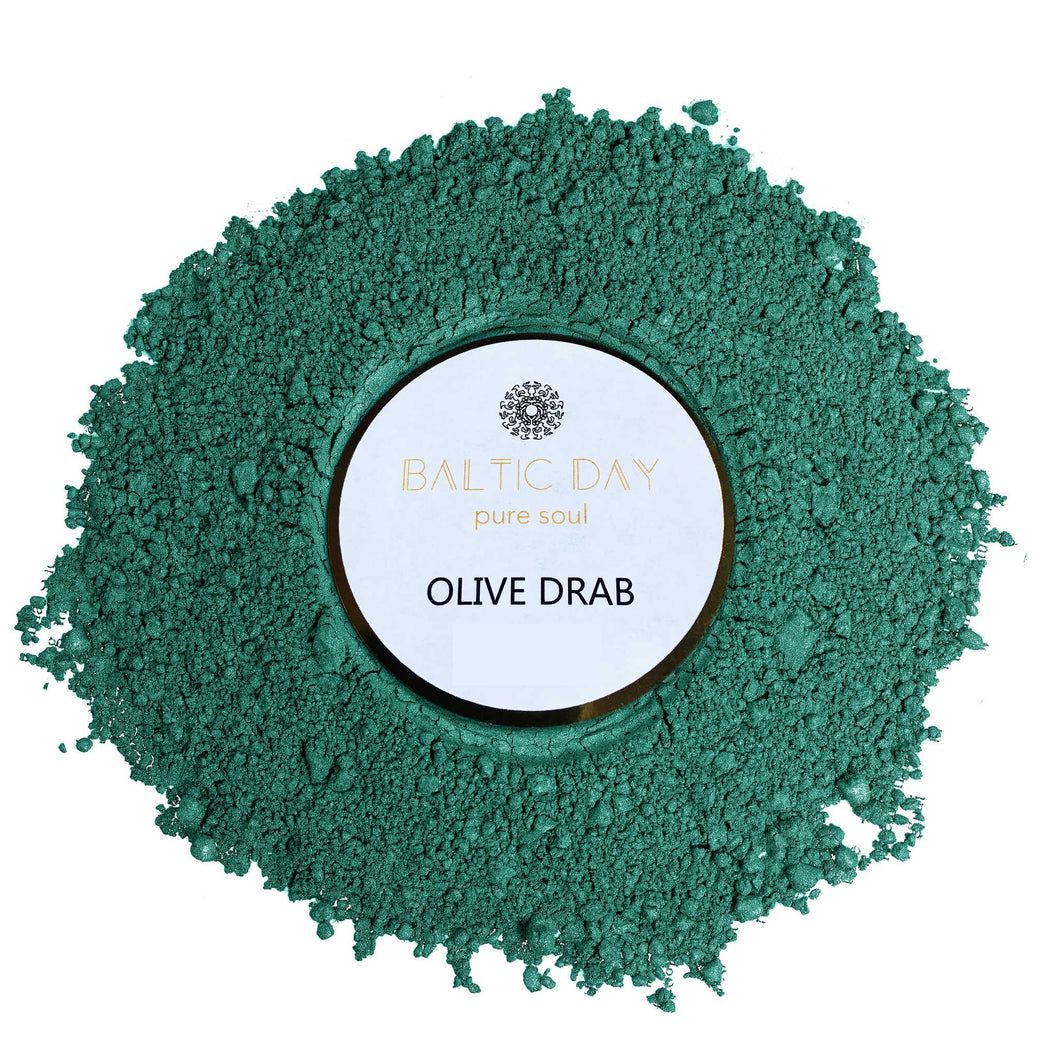 Epoxy Resin Color Pigment - OLIVE DRAB – 50g
