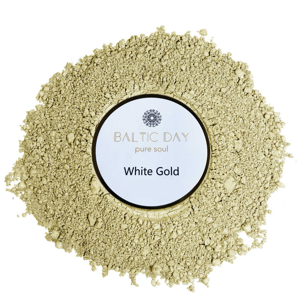 Epoxy Resin Color Pigment - WHITE GOLD – 50g