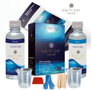 1:1 RATIO CRYSTAL CLEAR ARTIST'S RESIN [ 16oz KIT ]