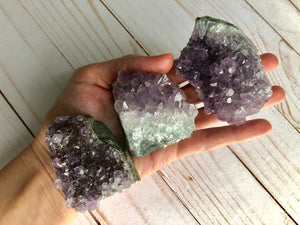 Natural Amethyst Druzy Crystal - ONE PIECE