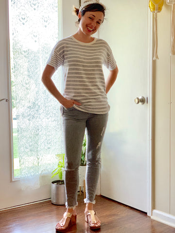 capsule wardrobe may 30x30 date night jeans