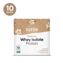 Whey Protein Isolate - Vanilla Cold Brew