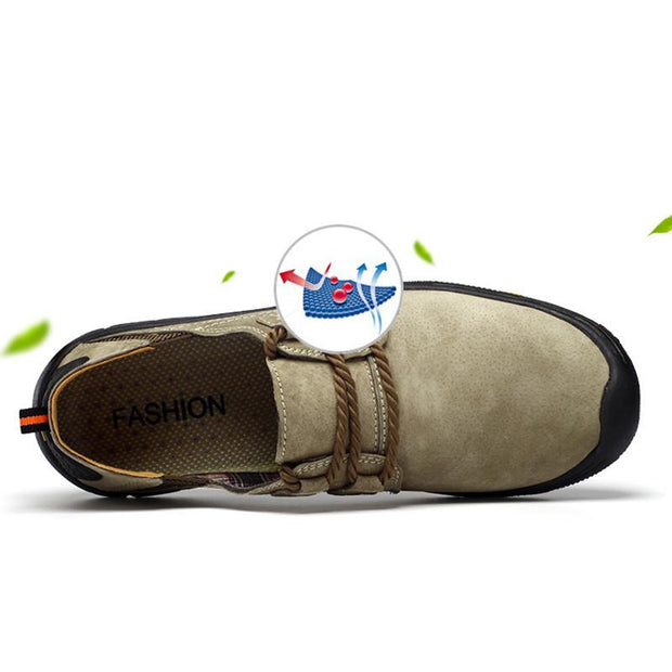 Men's Summer Casual Round-Toe Slip-On Travel Shoes