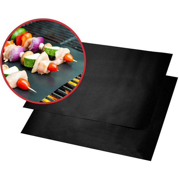 Barbecue Grill Mat Reusable Non-stick BBQ Cooking Baking Mats Covers Sheet Foil