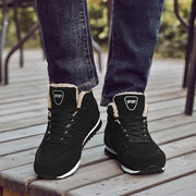 Men Fashion Breathable Round-Toe Winter Casual Boots