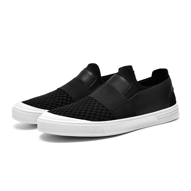 Men Fashion Non-slip Casual Shoes Mesh Fabrics Flats