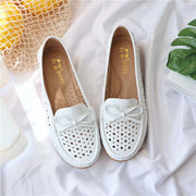 Women's Summer Fashion Hollow Out Flats Soft Casual Shoes