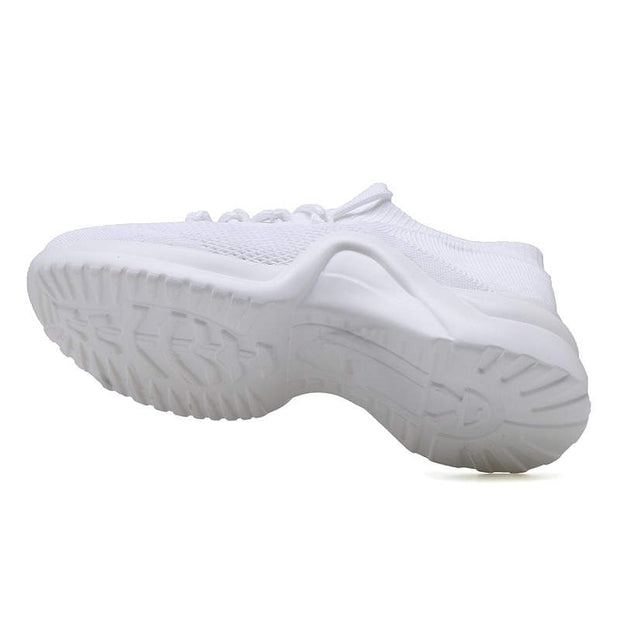 Women Summer Solid Mesh Fabrics Casual Shoes