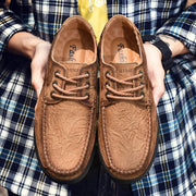 Men Fashion Genuine Leather Summer Autumn Casual Shoes