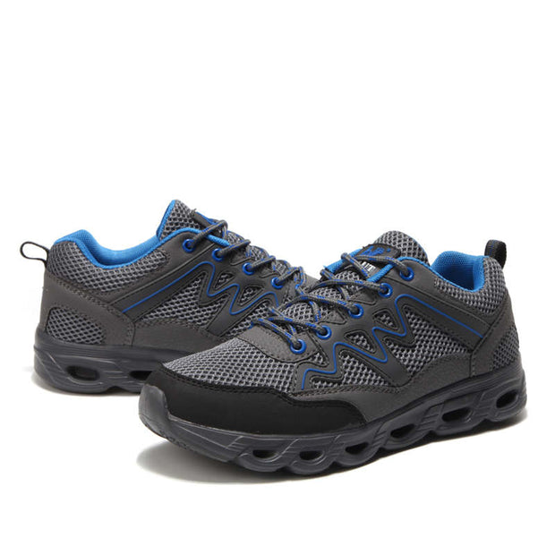 Men's Classic Solid With Comfortable Shockproof Casual Shoes
