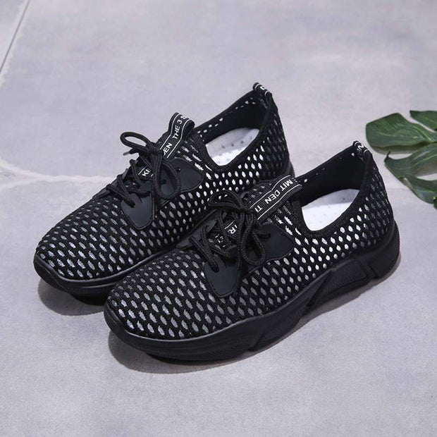 Women's Fashion Pumps Mesh Fabrics Casual Shoes