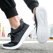 Men's Round Head Mesh Soft Sports Casual Shoes