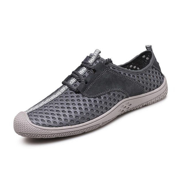 Men's Breathable Mesh Fabrics Flats Water Shoes
