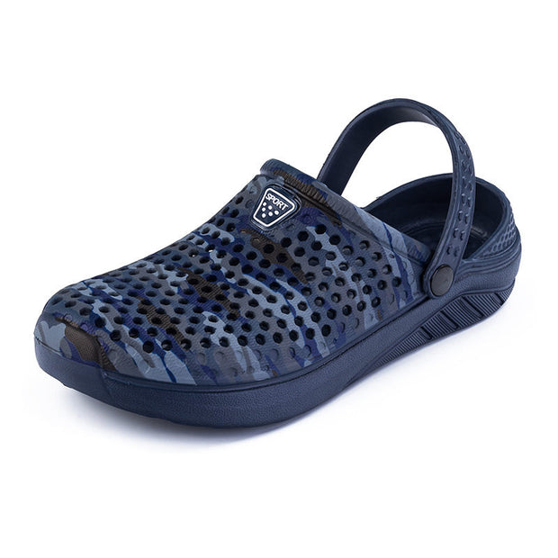 Men Summer Sandals Fashion Camouflage Beach Shoes