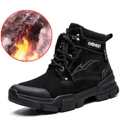 "Men Fashion Casual Solid Non-Slip Soft Resistant  Warm Athletic Boots(10% Off with Code ""TT10"" )"