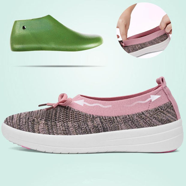 Women's Breathable Knitting Non-slip Mesh Ballet Flats (Get 2nd One 20% Off)