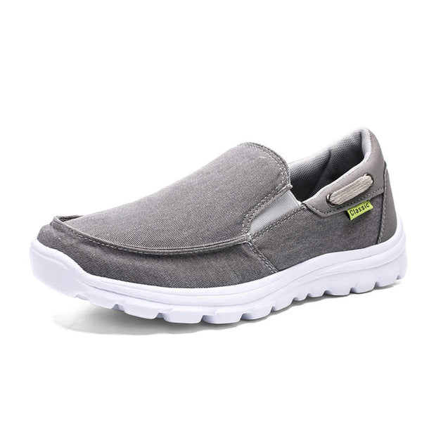 Men's Fashion Solid Set Of Round Head Casual Shoes